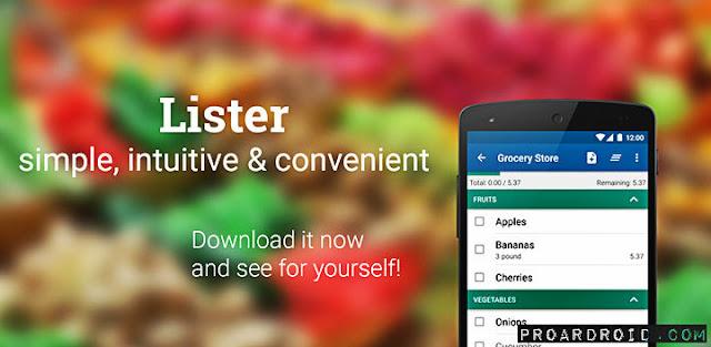 تطبيق قائمة التسوق Shopping List  Buy Me a Pie Pro للأندرويد مجاناً 56S4A.jpg