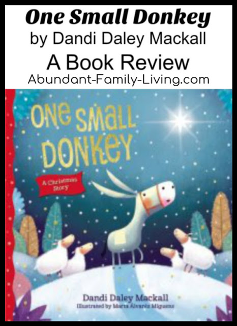 https://www.abundant-family-living.com/2016/10/one-small-donkey-by-dandi-daley-mackall.html