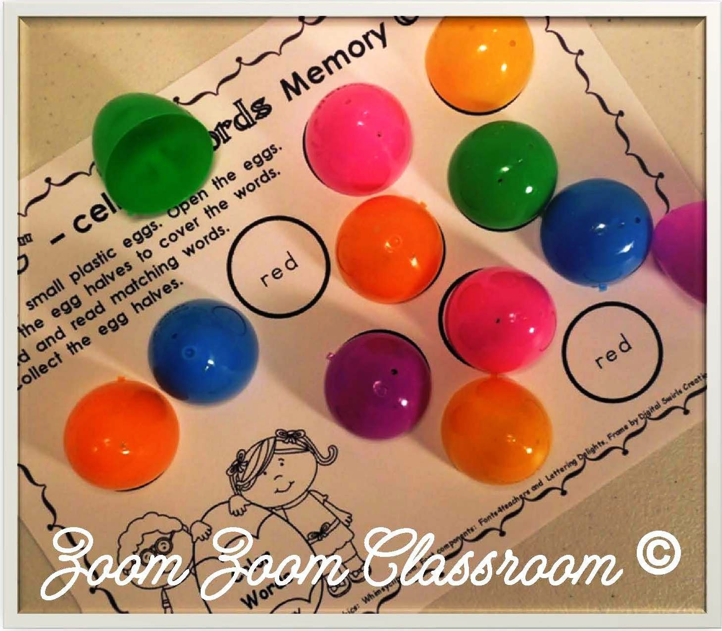 Lessons By Molly Memory Matching Games For Early Learners