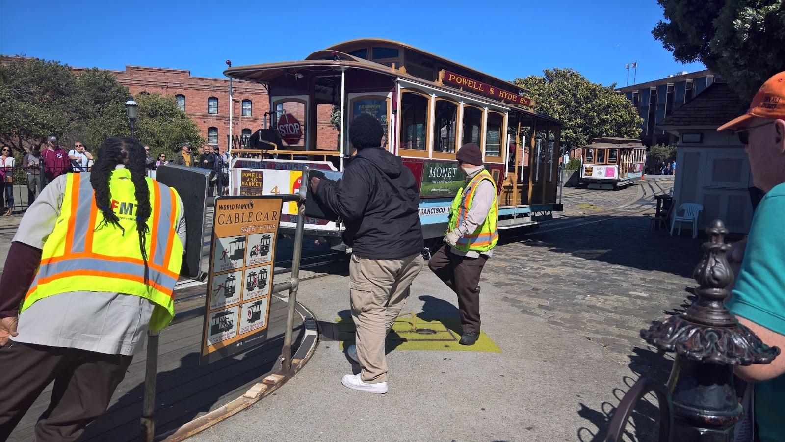 san francisco kalifornia cable car kaapelikärry ajelu kulkuneuvo matkailu matkajuttu mallaspulla