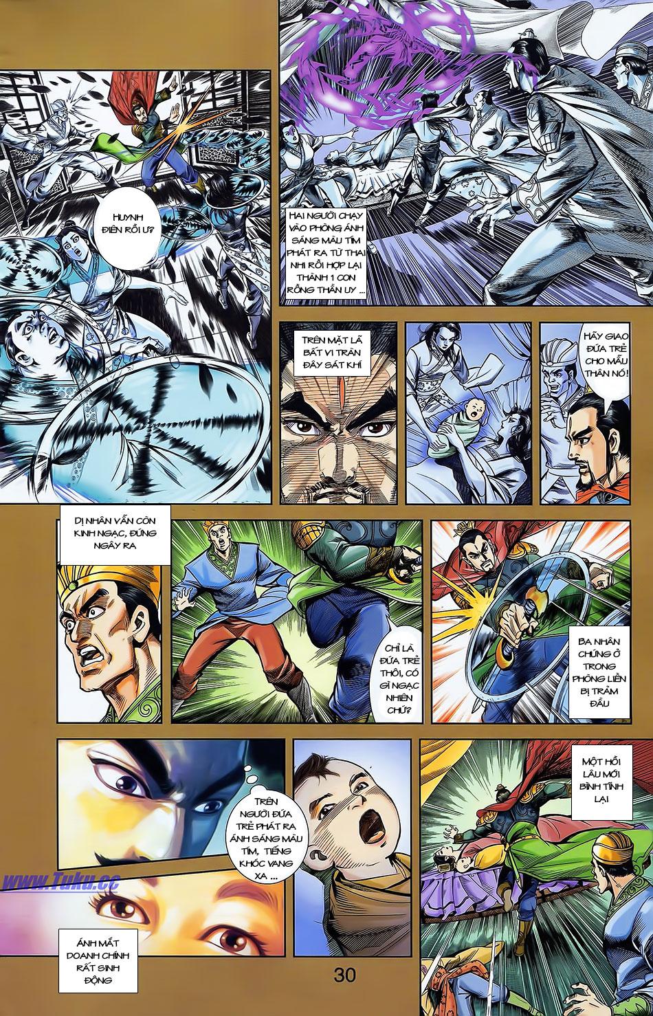 Tần Vương Doanh Chính chapter 4 trang 2