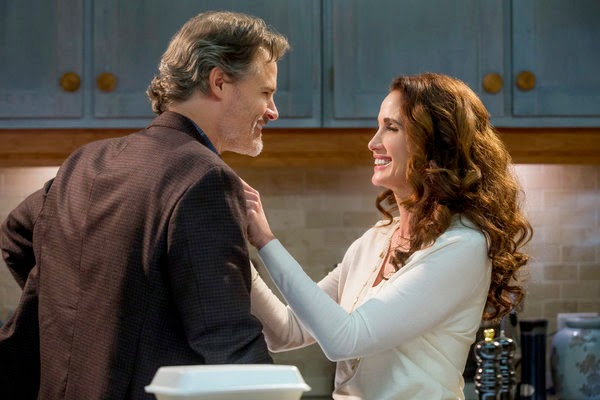 'CEDAR COVE,' SEASON TWO (2014). Andie McDowell stars in this Hallmark Channel series. All text is © Rissi JC and RissiWrites.com