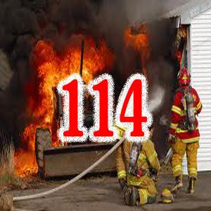 Báo ngay cho lực lượng chữa cháy qua số 114