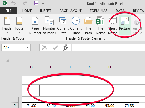 Menambahkan Background Gambar di Excel 2013 Menggunakan Menu