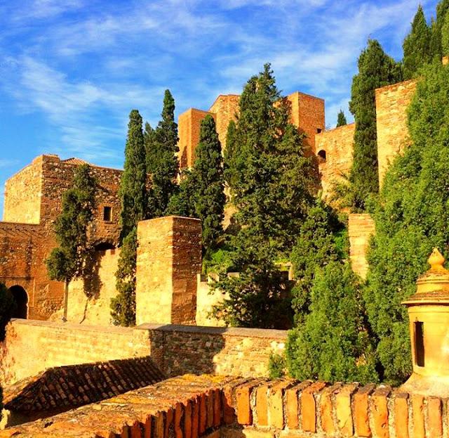 Muslim Fortress of Málaga - La Alcazaba