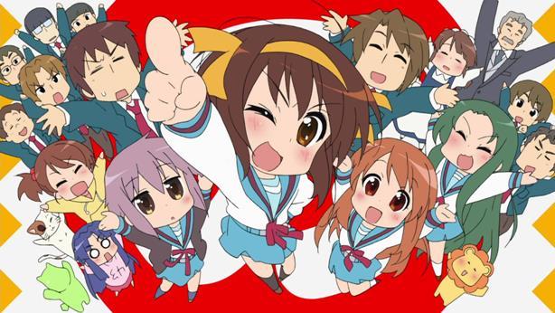 11. Suzumiya Haruhi-chan no Yuuutsu