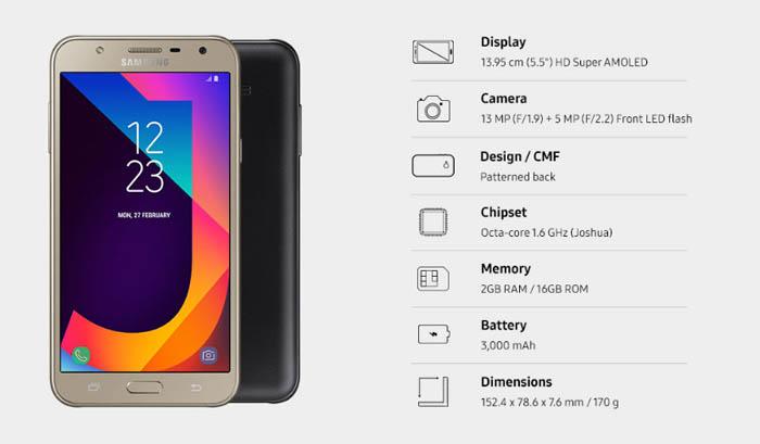 Spesifikasi Samsung Rilis Galaxy J7 Nxt