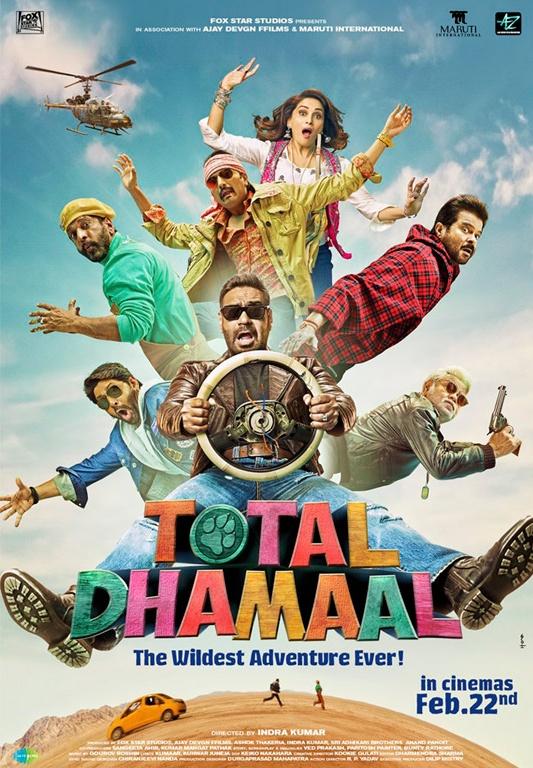Total Dhamaal 2019 Full Hindi Movie Download HDRip 720p