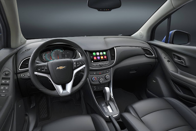 Novo Chevrolet Tracker 2017 - interior