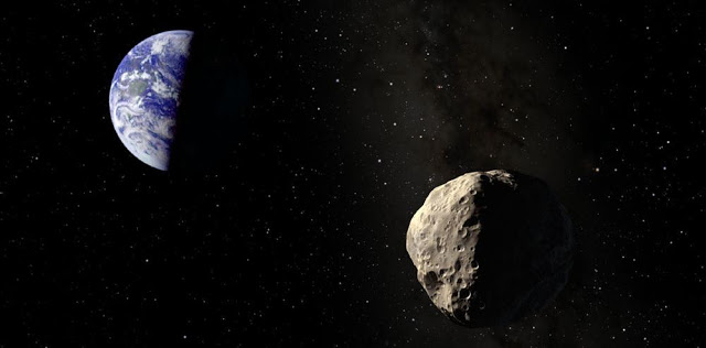 asteroid discovered few days ago to whiz by earth on friday