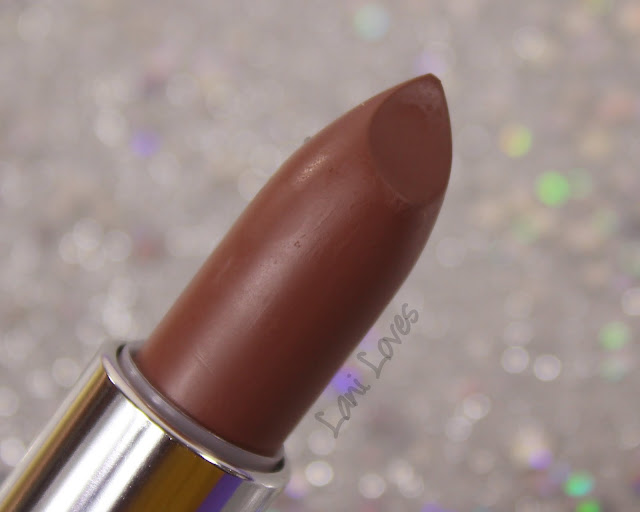 Maybelline Loaded Bolds Lipstick - Gone Greige Swatches & Review