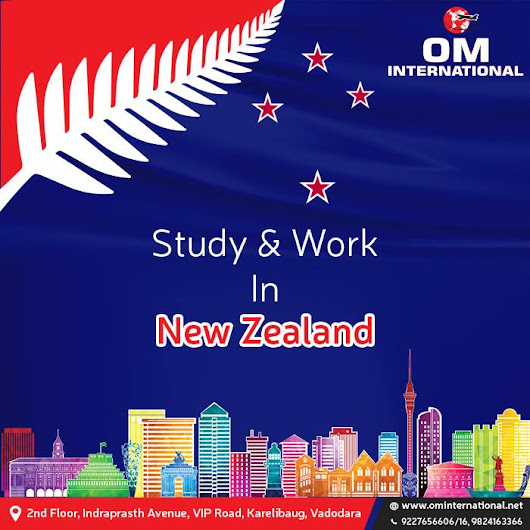 OM INTERNATIONAL Brought New changes for Post Study visa Newzealand...!!!