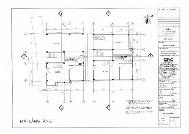 thiết kế tầng 1 chung cư minh đại lộc 4
