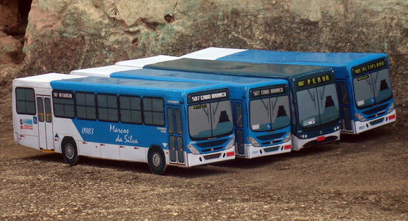 Marcos da Silva e seus Ônibus Em Miniaturas!