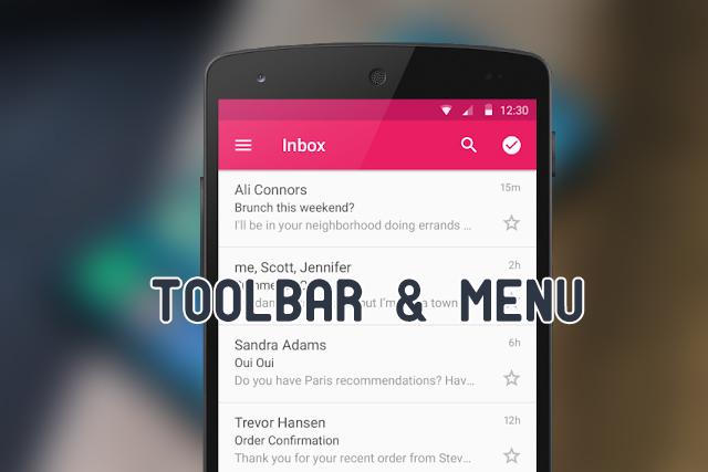 Membuat Toolbar Dan Menu Di Action Bar Android Studio