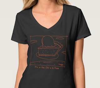 pie in the sky women's shirt