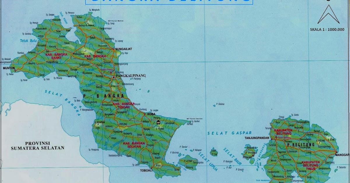 Bangka Belitung Island: Asal Usul Nama Pulau Bangka ...