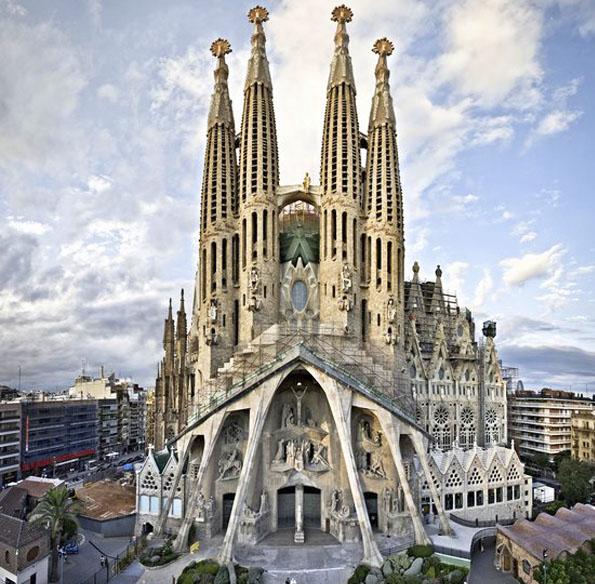 La Sagrada Familia en Barcelona