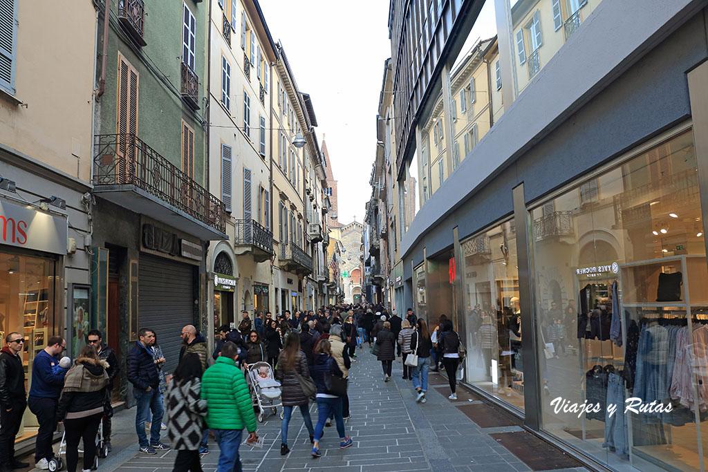 Via XX Settembre de Piacenza