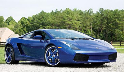 Gallardo Spyder Blue