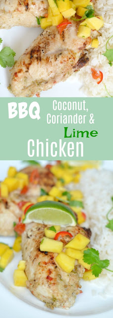 BBQ Coconut & Lime & Coriander Chicken