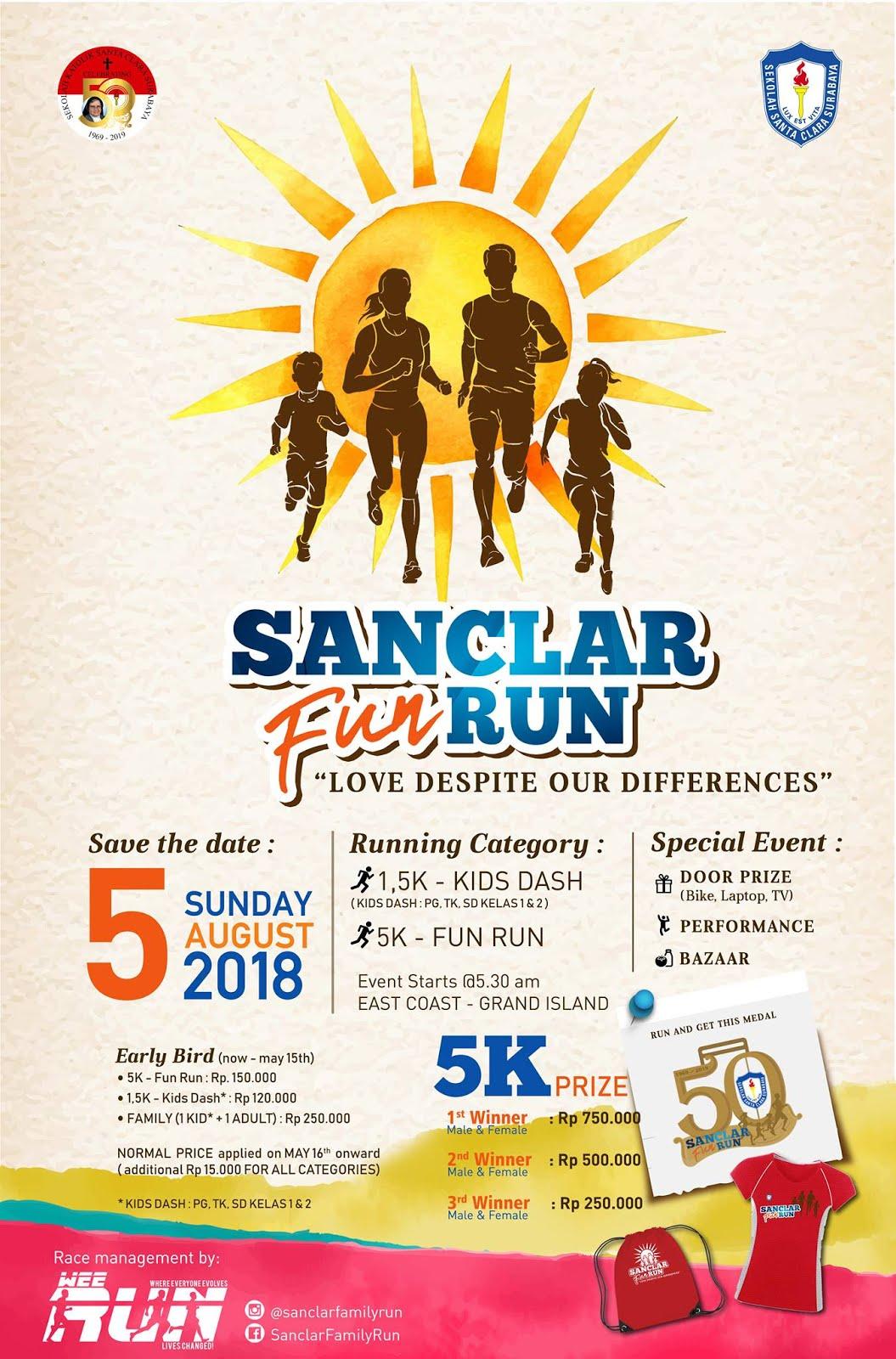 Sanclar Fun Run • 2018