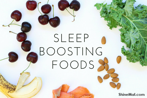 natural foods helps to sleep well