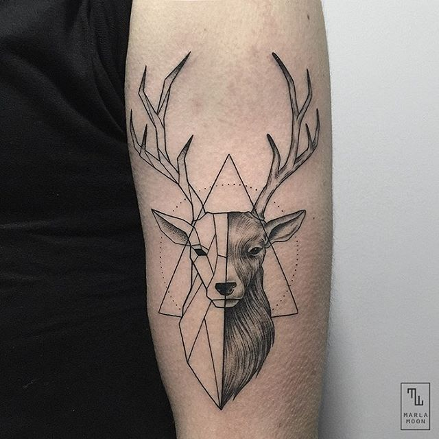 05-Stag-Marla-Moon-Geometric-Shapes-with-Tattoo-Drawings-www-designstack-co