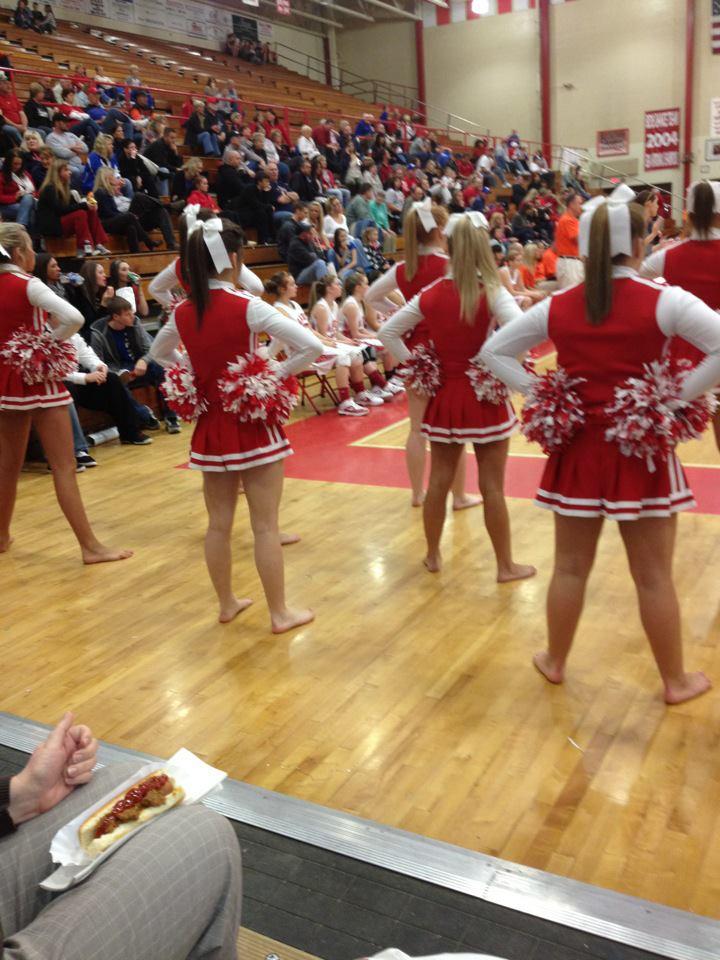Barefoot High School Cheer Camp