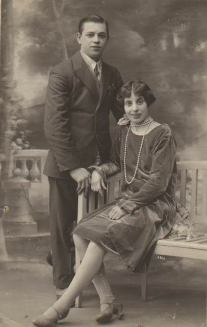 Maria Renelde HUGE et son mari Hubert Augustin HECQ