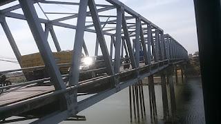 Ada Perbaikan, Jembatan Ploso Jombang Ditutup Total