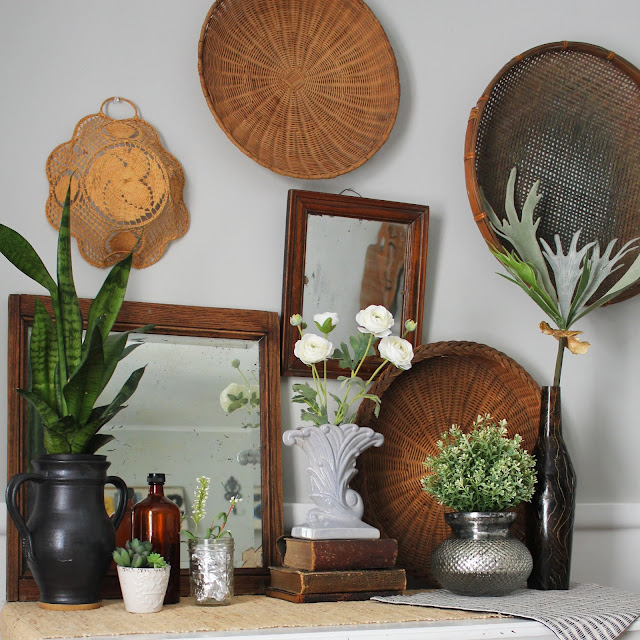 Thrift the look-recreate decor with thrift store finds