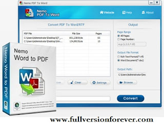 pdf to word converter free download full version for windows 7