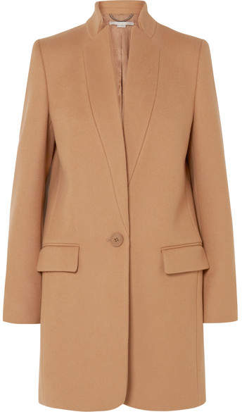 Stella McCartney - Bryce Melton Wool-blend Coat – Camel