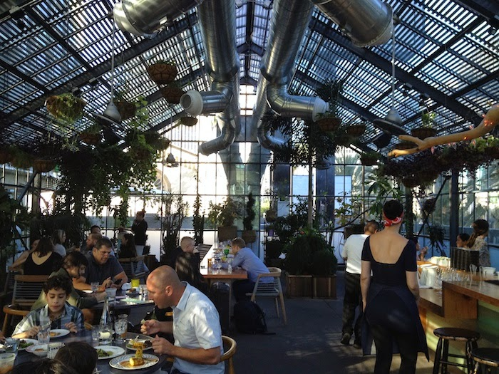 Pink Foodie Greenhouse Dining At Commissary Koreatown Los Angeles