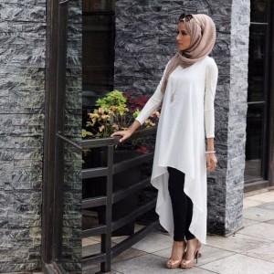 Baju atasan muslim panjang