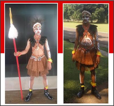 Gambar Pakaian Adat Papua
