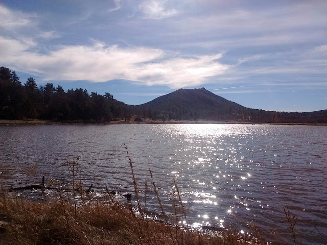 Lake Cuyamaca from Fletcher Island
