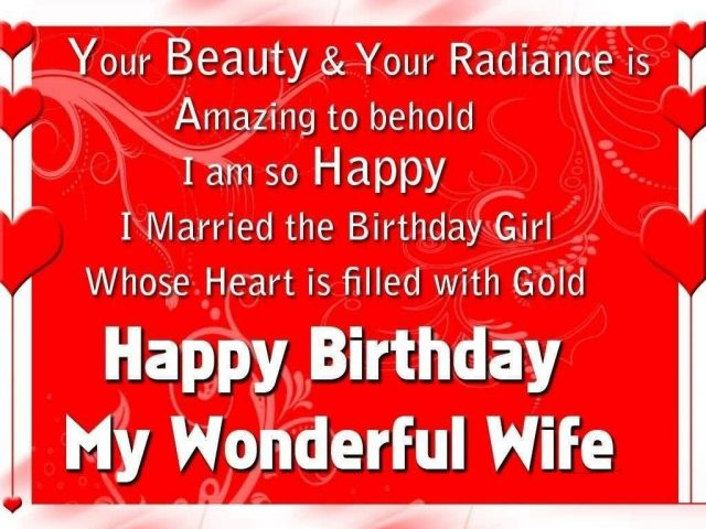 Amazing Birthday Wishes for Wife with Images