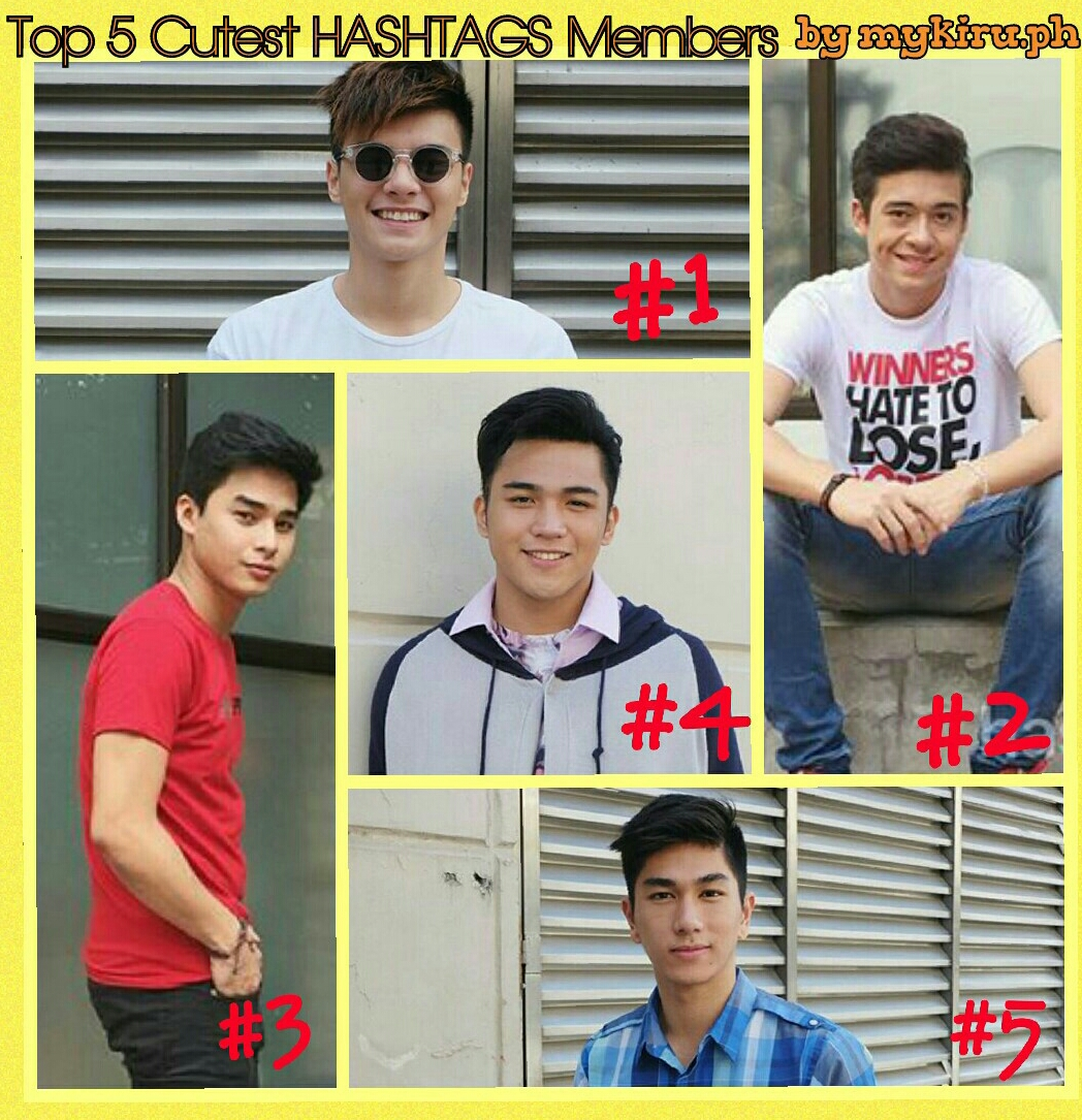 Top 5 Cutest Hashtags Members Mykiru Isyusero