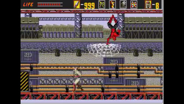 Spiderman Revenge of Shinobi boss