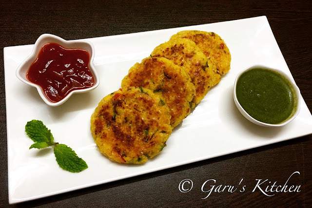corn cutlet recipe | spicy corn patties recipe | makai tikki recipe | how to make corn cutlet