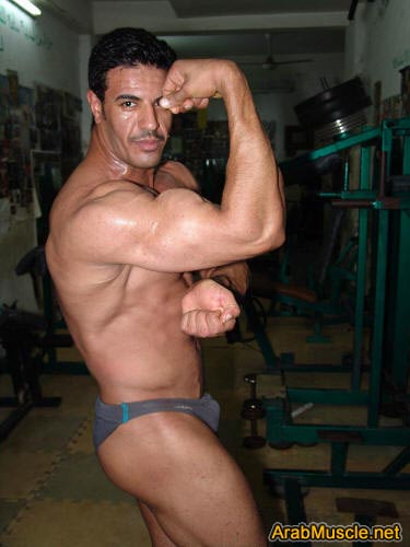 Arab muscle nude