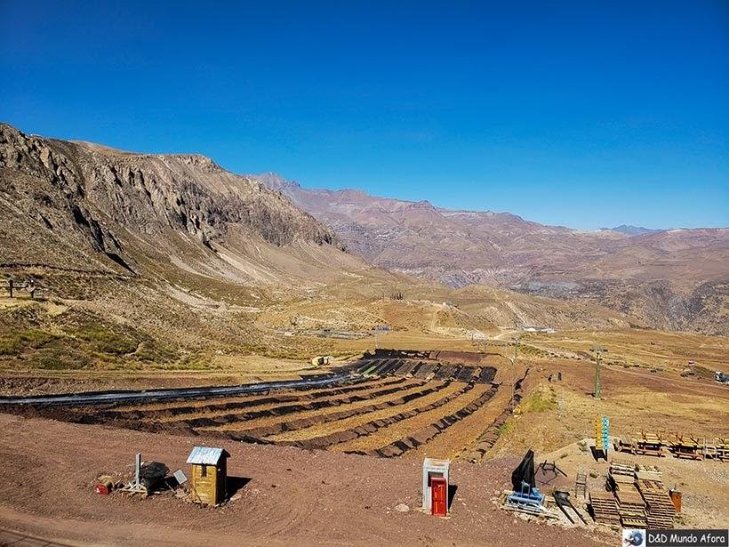 Parque de Farellones no verão - Diário de Bordo Chile: 8 dias em Santiago e arredores