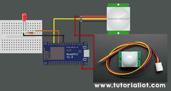 Tutorial Sensor Pir dan ESP8266 : Mengirim Notifikasi ke Telegram Saat Ada Gerakan