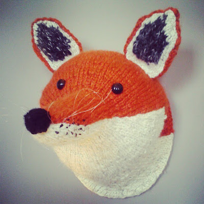 knitted art