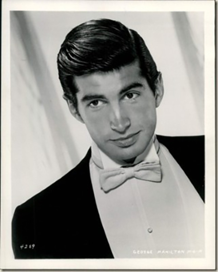 Image result for young actor george hamilton