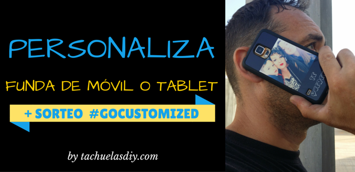 sorteo funda personalizada customizada gratis samsung iphone gracias a gocustomized