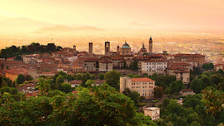 The enchanting Città Alta in Bergamo is a big draw for tourists, although the Città Bassa is also worth visiting