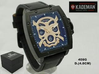Arloji kademan warna hitam